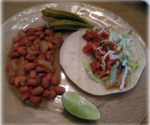 Home Is a Kitchen's Fish Tacos Recipe