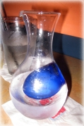 House Sake in a Decanter from Fuji 1546 http://manfuel.wordpress.com