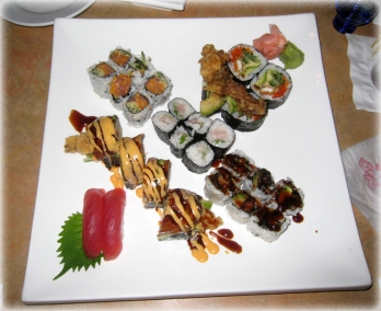 Delicious sushi from Fuji 1546 https://manfuel.wordpress.com