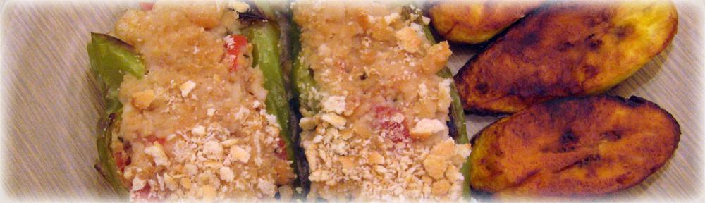 Seafood Stuffed Cubanelle Pepper Recipe by Man Fuel: https://manfuel.wordpress.com