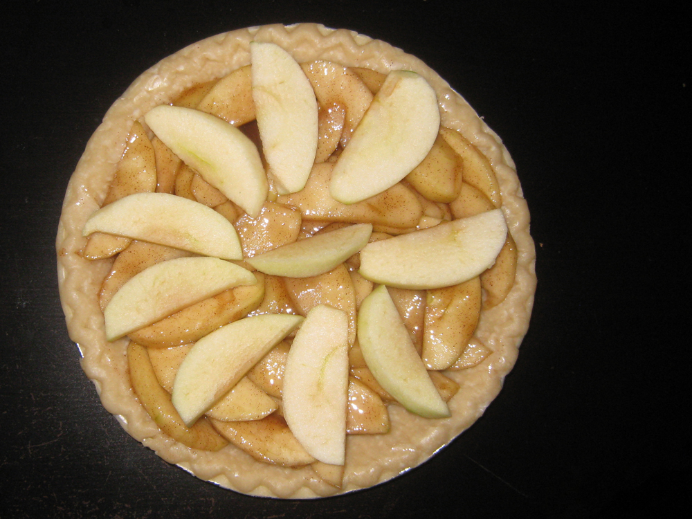 how to cook a frozen pre cooked apple pie