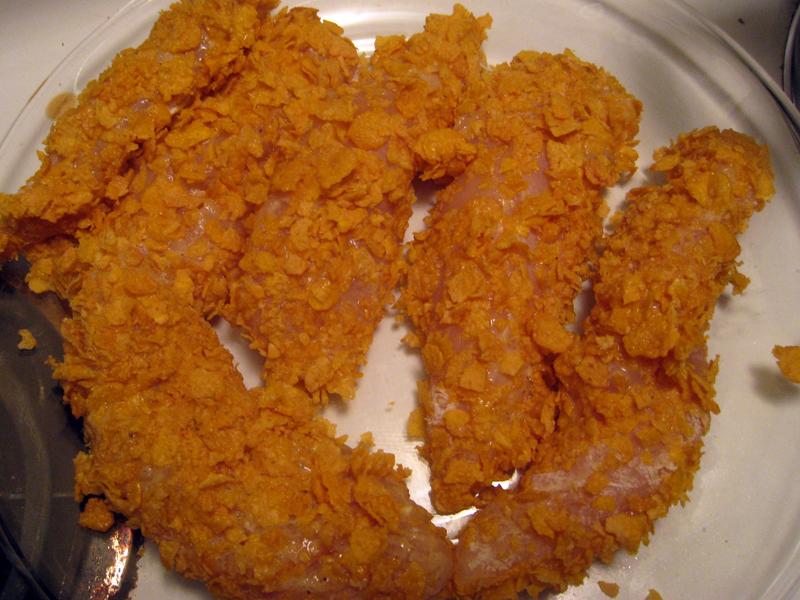 Extra Crispy Chicken Tenders Man Fuel Food Blog
