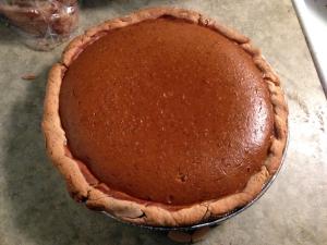 Pumpkin Pie Recipe by Man Fuel