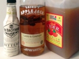 Triple A – An Apple Cider, Applejack, and Angostura Bitters Cocktail