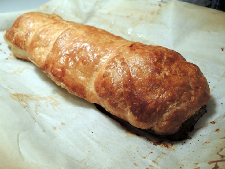 Home Is A Kitchen - Pork Wellington Recipe - Baked Pork Wellington Fresh from the Oven