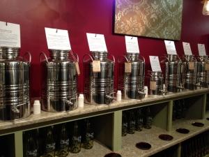 Balsamic Vinegar at the Olive Tap in Providence RI