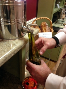 Balsamic Vinegar Bottling at the Olive Tap in Providence RI