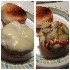 Bourbon Steamed Cheesburger