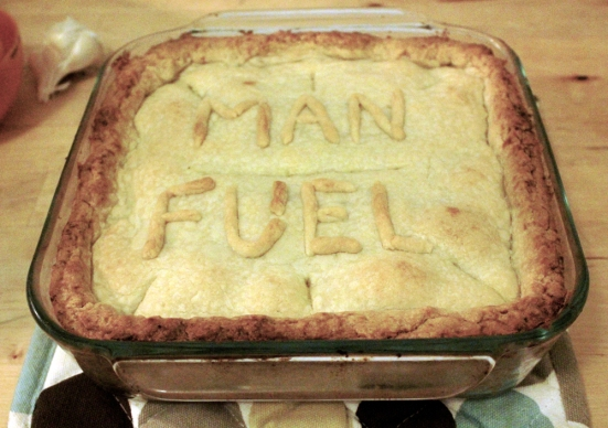 Chicken Pot Pie Recipe Review on Man Fuel