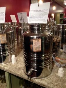 Cinammon Pear Balsamic Vinegar at the Olive Tap in Providence RI