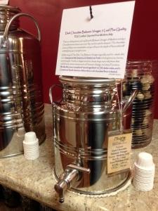 Dark Chocolate Balsamic Vinegar at the Olive Tap in Providence RI