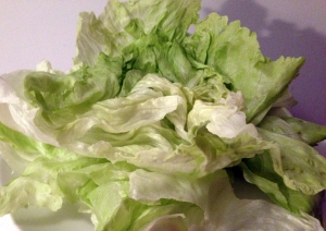 Iceberg Lettuce Leaves