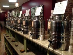 Olive Oil at the Olive Tap in Providence RI