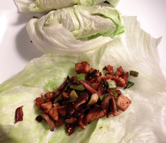 Tofu Lettuce Wraps Recipe by Man Fuel