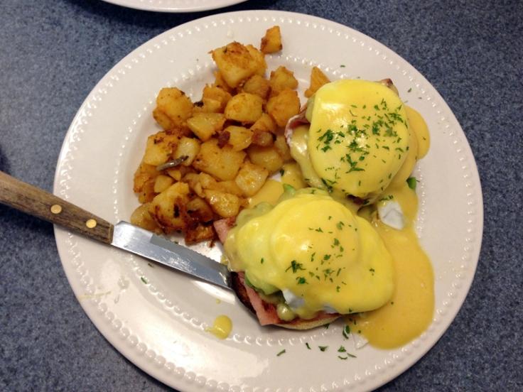 Wayland Square Diner - Eggs Benedict