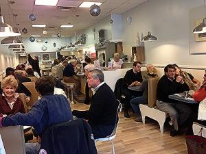 Wayland Square Diner Interior