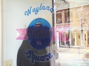 Wayland Square Diner Window