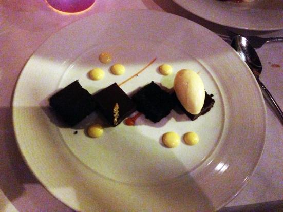 Bergamot Devils Food Cake