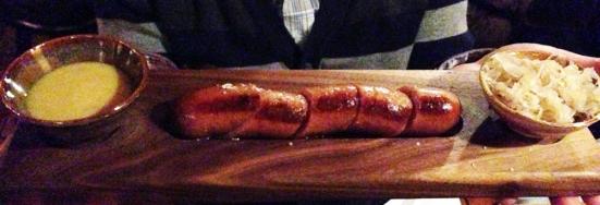 Chez Pascal - Bratwurst