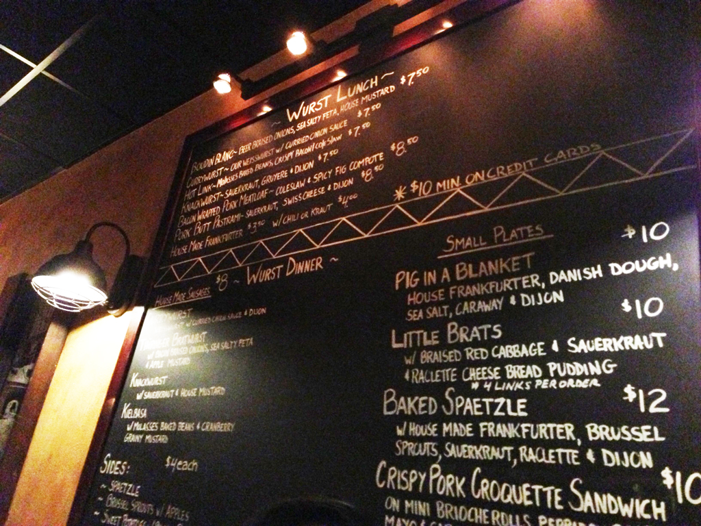 Chez Pascal – Wurst Kitchen Review – Providence, RI | Man Fuel ...