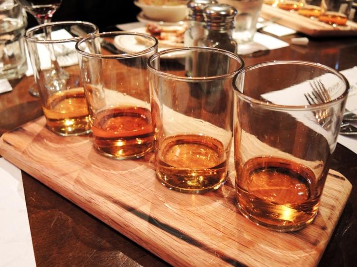 Lansdowne Pub - Whiskey Flight
