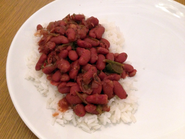 Louisiana Style Red Beans and Rice Recipe by Man Fuel