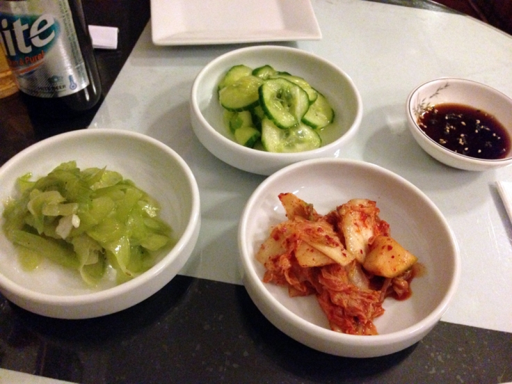 Sun and Moon - Korean Pickled Vegetables