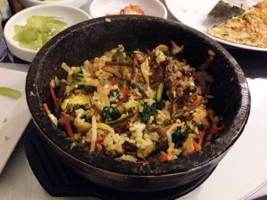 Sun and Moon - Mixed BiBimBop or BiBimBap