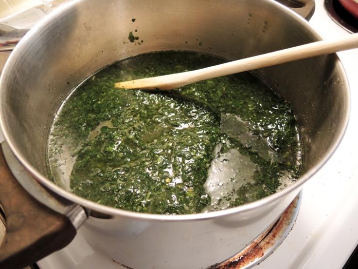 Molokhia Melting in the Pot