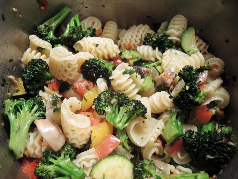 Pasta Primavera Recipe | Man Fuel Food Blog