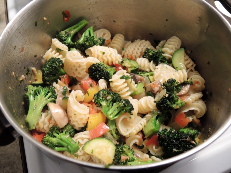 Pasta Primavera Mixed and Ready by Man Fuel