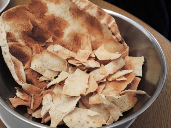 Toasted Syrian Bread