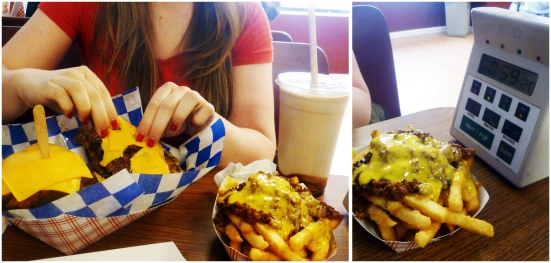 48 Oz Burger Challenge - The Burger Shack - NY
