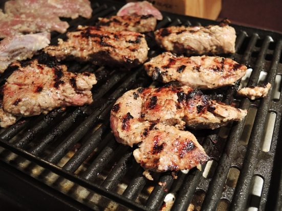 Grilled Lamb with Middle Eastern Marinade - A Man Fuel Recipe