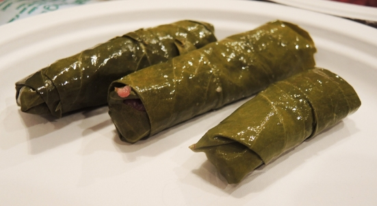 Rolled Stuffed Grape Leaves by Man Fuel