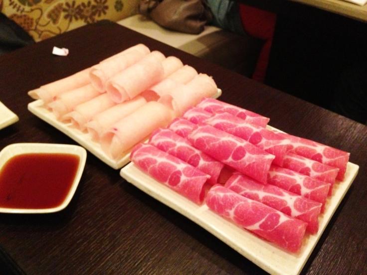 Shabu - Quincy MA - Chicken and Pork