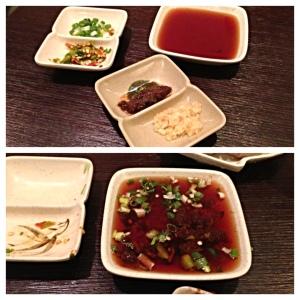 Shabu - Quincy MA - Dipping Sauce