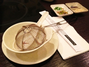 Shabu - Quincy MA - Utensils
