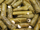Stuffed Grape Leaves with Meat and RiceRecipe
