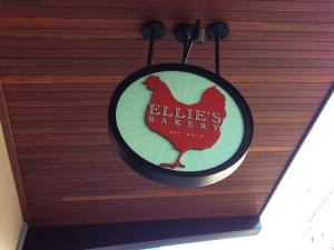 Ellies Bakery Sign