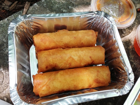 Lotus Pepper Food Truck - Fried Spring Rolls - Review by Man Fuel