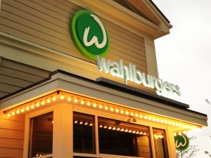 Wahlburgers Sign
