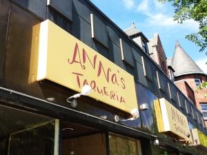 Annas Taqueria in Brookline MA