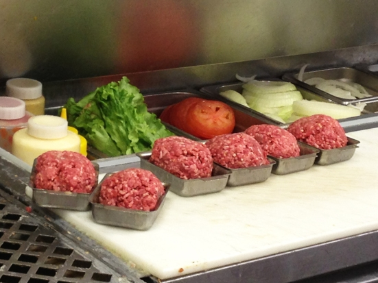 Ground Beef in Ted's Famous Steamed Burgers