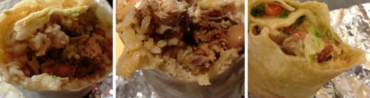 Inside Anna's Boca Grande and Felipes Burritos from Boston