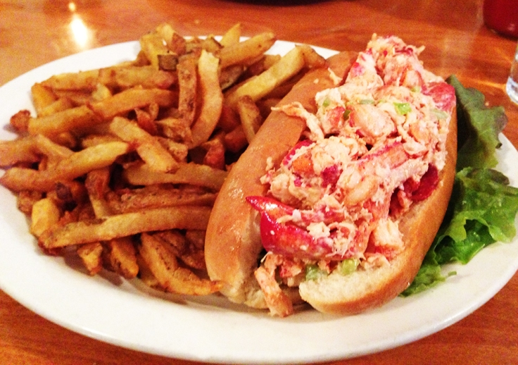 Lobster Roll from Matunuck Oyster Bar