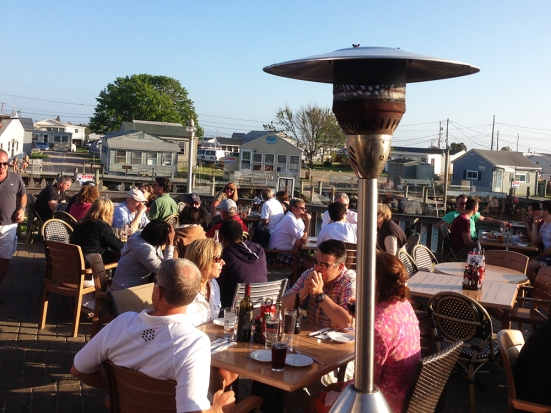 Matunuck Oyster Bar Outdoor Patio