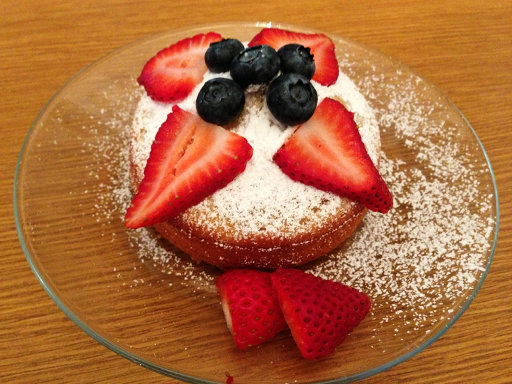 Mini Vanilla Cake Recipe by Man Fuel