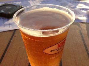 Naragansett Beer from Matunuck Oyster Bar