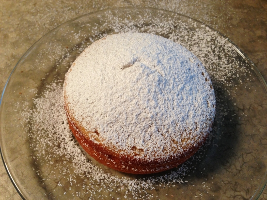 Powdered Sugar on Mini Vanilla Cakes by Man Fuel